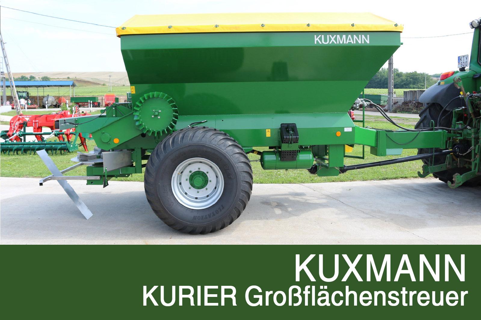 KUXMANN KURIER Large-area spreader
