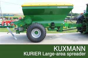 KUXMANN KURIER Large-area spreader