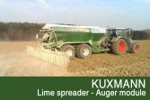 KUXMANN Lime spreader - Auger module