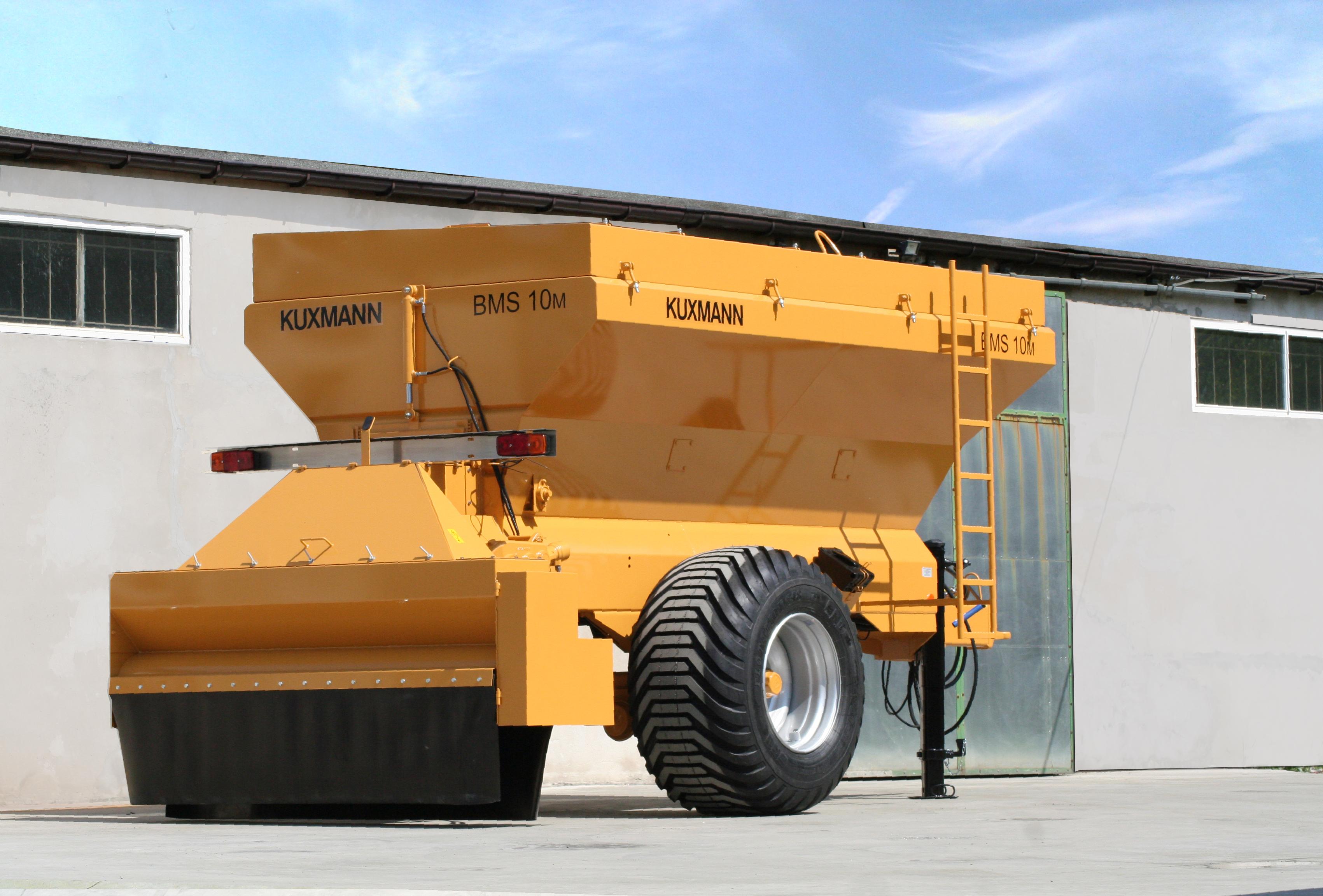 KUXMANN Binding agent spreader Bindemittelstreuer BMS 10m Gelb Yellow